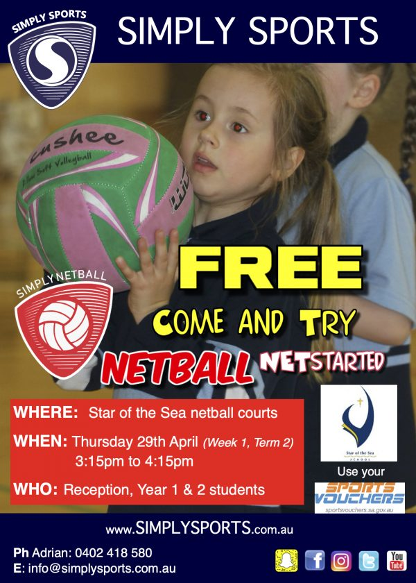 Star of the Sea Netball C&T